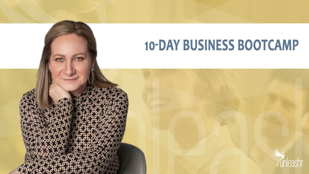 cover image for 10-day business bootcamp unleashr